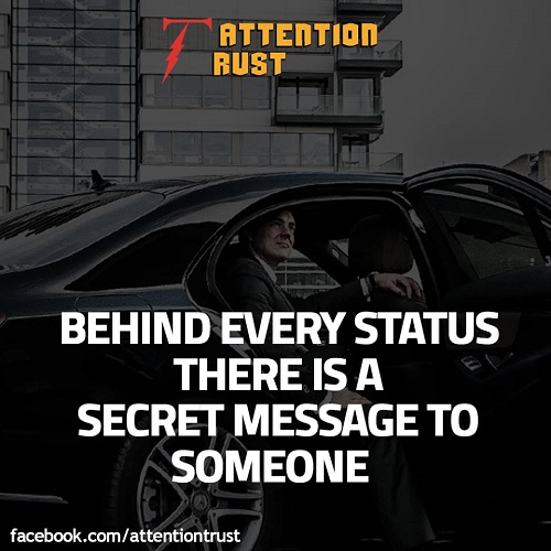 Behind Every Status - Inspirational Quotes