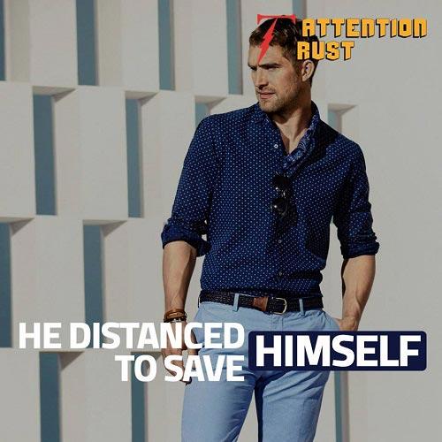 He Distracted Himself