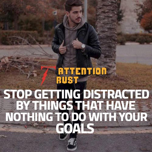 Stop Getting Distracted