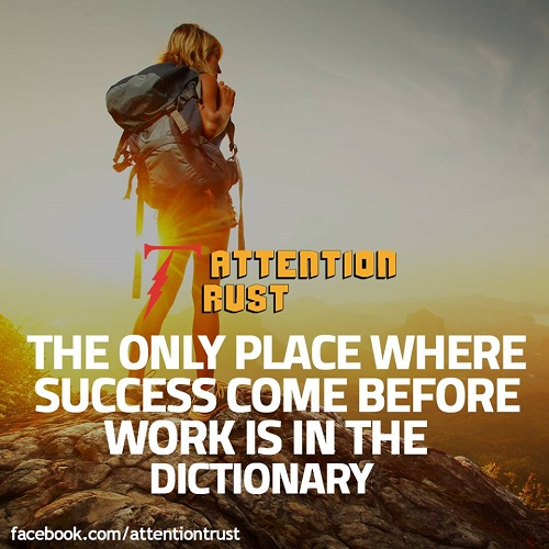 The Only Place Where Success - Inspirational Quotes
