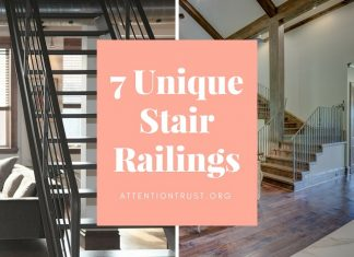 Unique Stair Railings