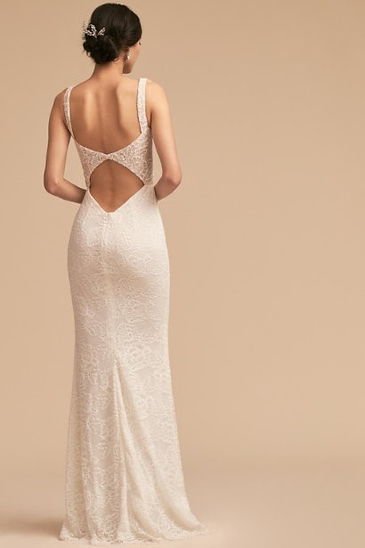 Deep V-Neck Indiana Gown