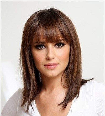 Shoulder Length Hair With Bangs