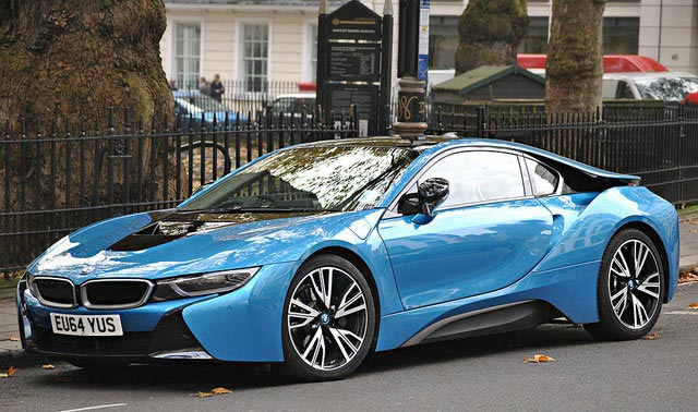 BMW i8 Rim Design