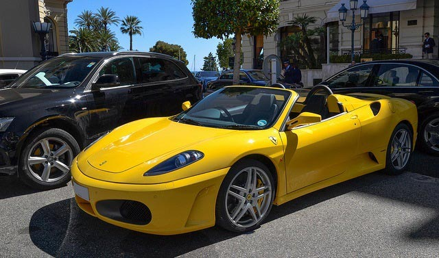 Ferrari F430 Spider Rim Designs