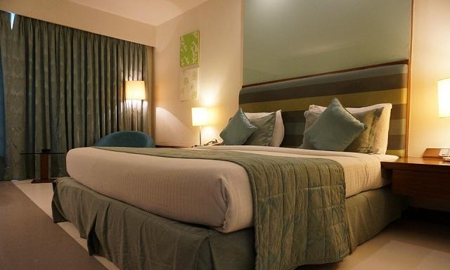 Green Curtain Room Designs