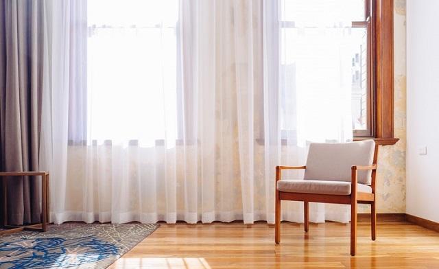 Sharp White Curtain Design Ideas