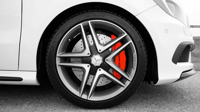 Star Mercedes Rim Designs