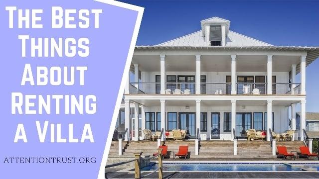 Renting a Villa