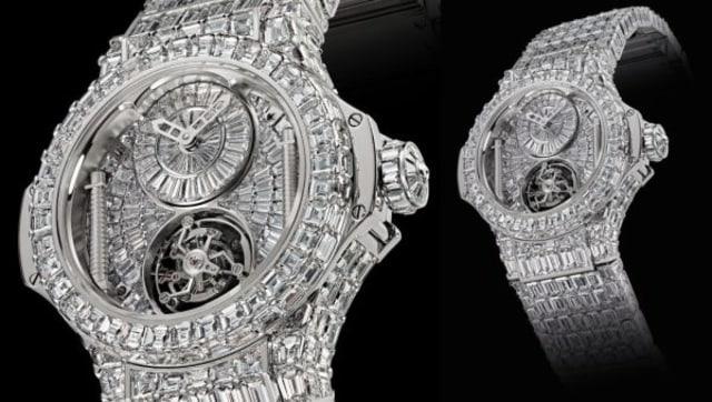 HUBLOT BIG BANG DIAMOND - top expensive watches