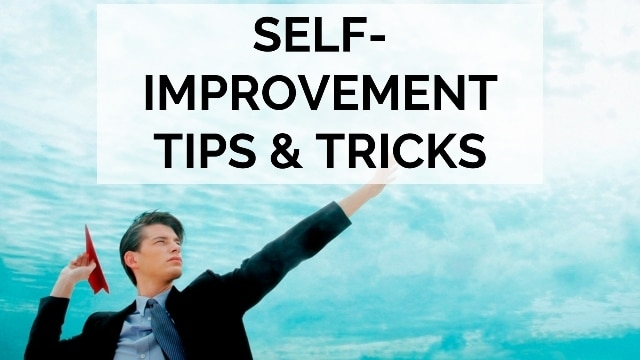 self improvement tips