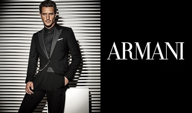 Armani - Expensive Clothing Brands