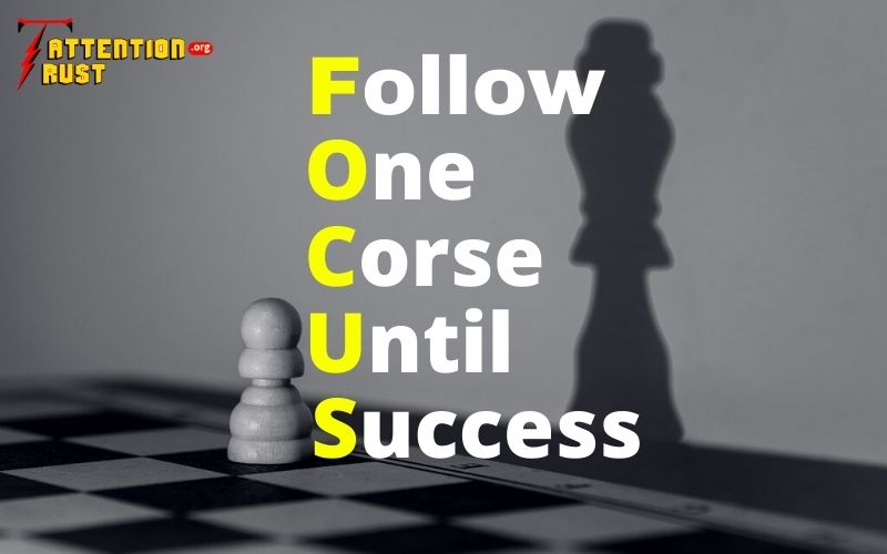 Follow one course