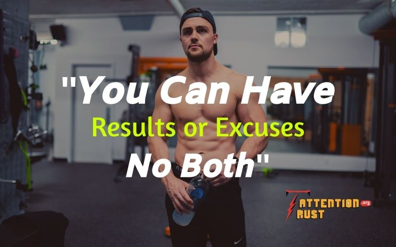 Results and Excuses