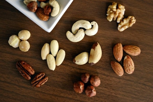 Nuts - foods cause gerd