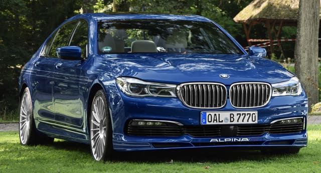 BMW 7 Series - Luxury Cars List