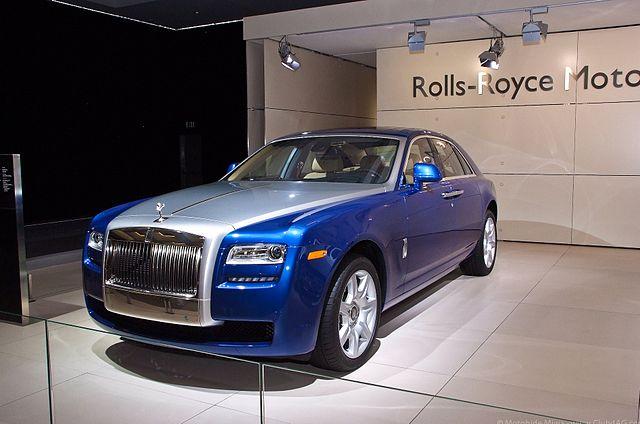 Rolls-Royce Ghost - Luxury Cars Brands