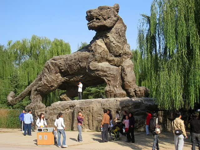 Beijing Zoo - largest zoo in the world