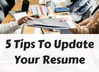 Update Your Resume