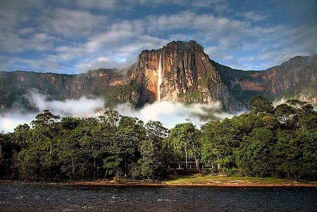 Angel Falls - most famous waterfall in the world