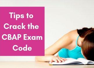 CBAP Exam Code