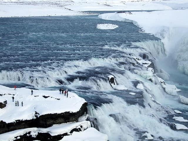 Gullfoss - most beautiful waterfall