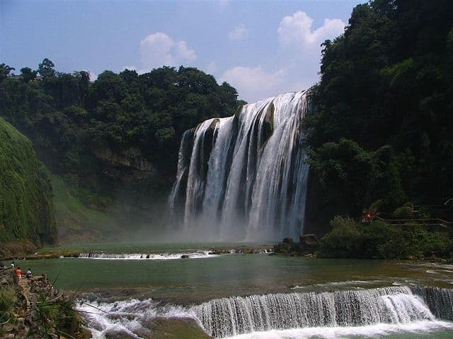 Huangguoshu - most famous waterfall in the world