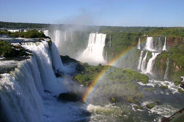 Iguazu Falls - most powerful waterfall
