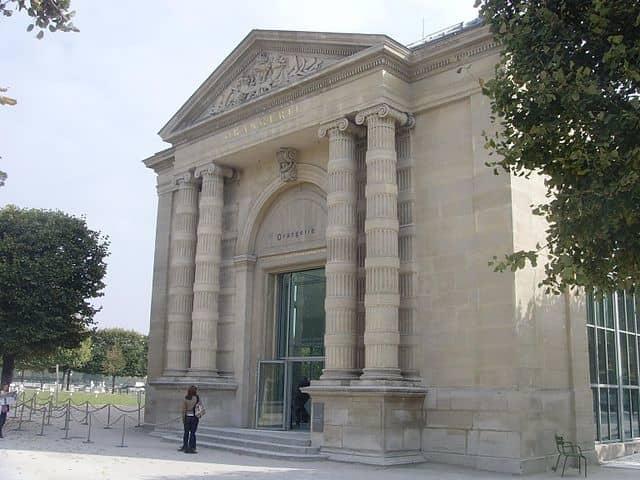 Musée De L'Orangerie - places to visit in paris at night