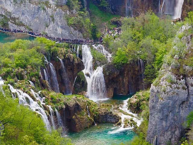 Plitvice Waterfalls - largest waterfalls in the world
