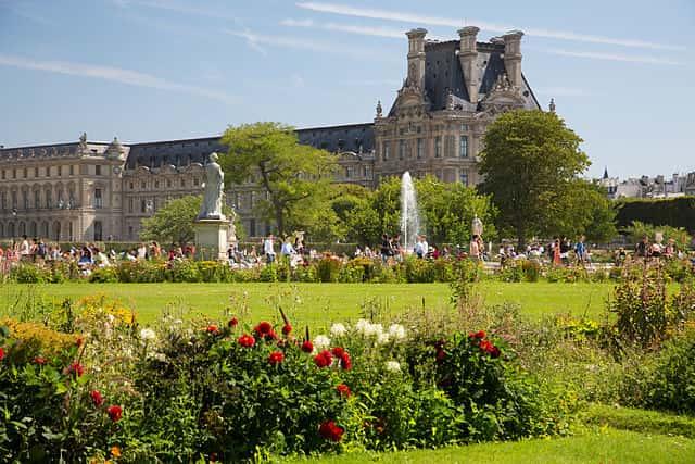Tuileries Garden - famous places in paris