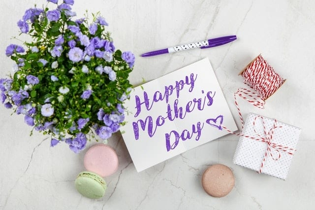 Mother's Day Card - last minute mothers day gift ideas
