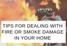 Smoke Damage in Home