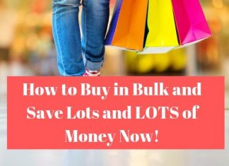 Shopping save money