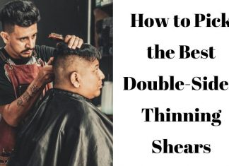 Double-Sided Thinning Shears