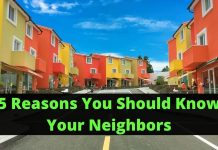 5 Reasons You Should Know Your Neighbors