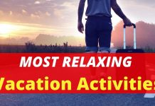 Most Relaxing Vacation Activities