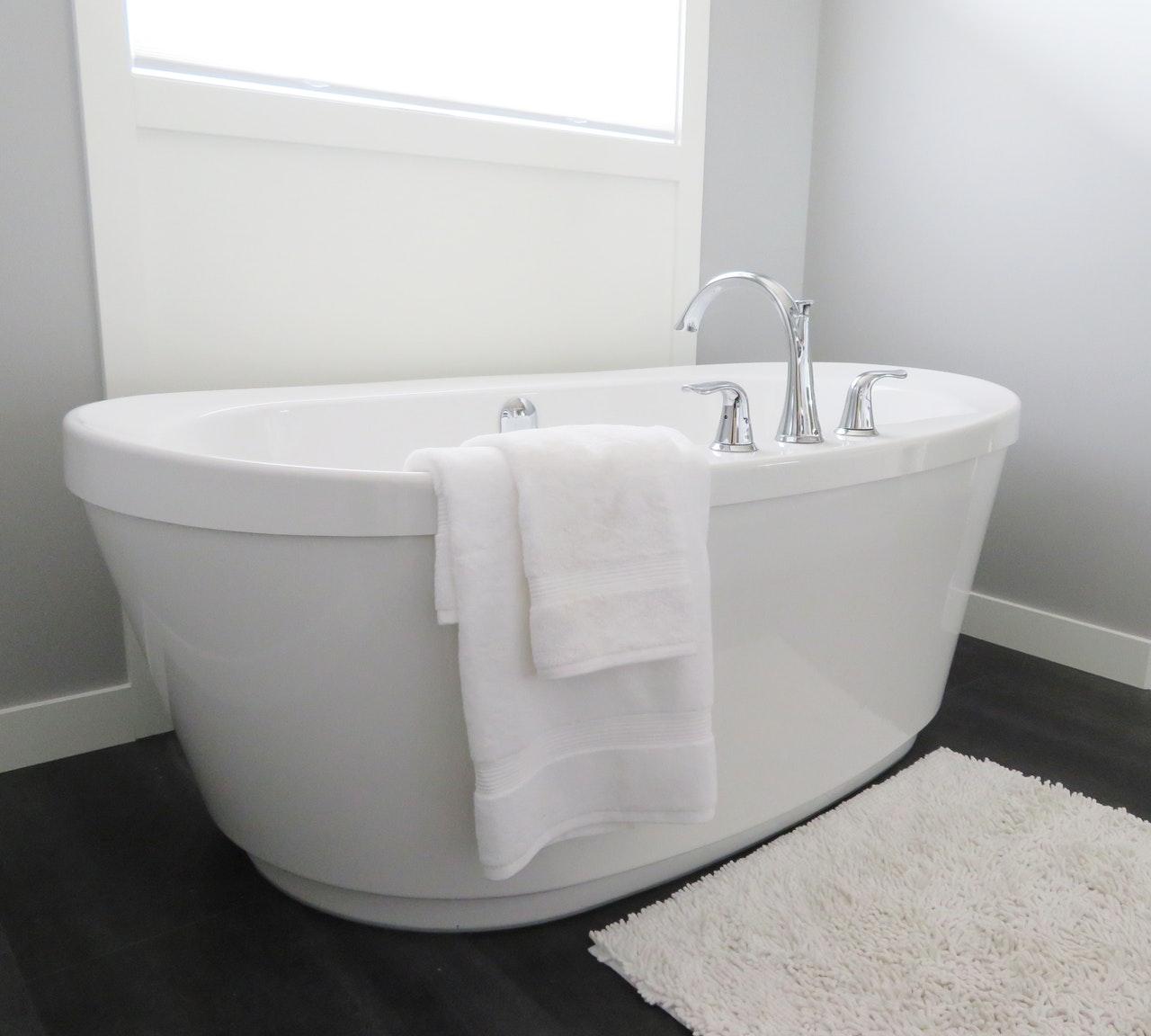 bathroom Shaded Tub