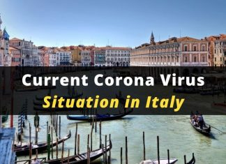 Current Corona Virus Situation in Italy
