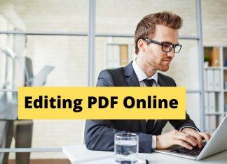 Editing PDF Online