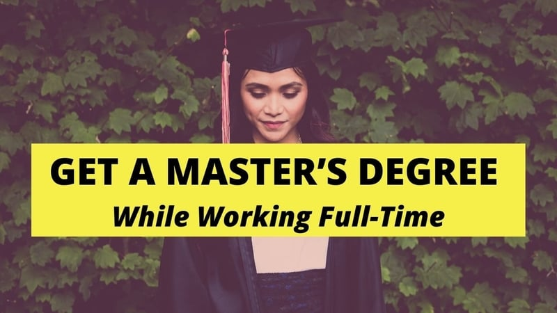 Successfully Get a Master's Degree