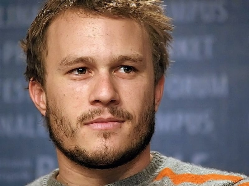Heath Ledger - famous celebrities male