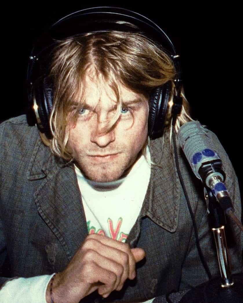 Kurt Cobain - famous celebrities male