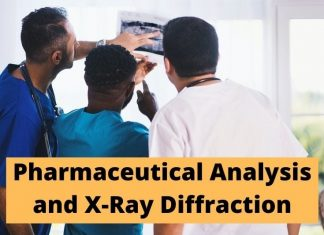 Pharmaceutical Analysis and X-Ray Diffraction