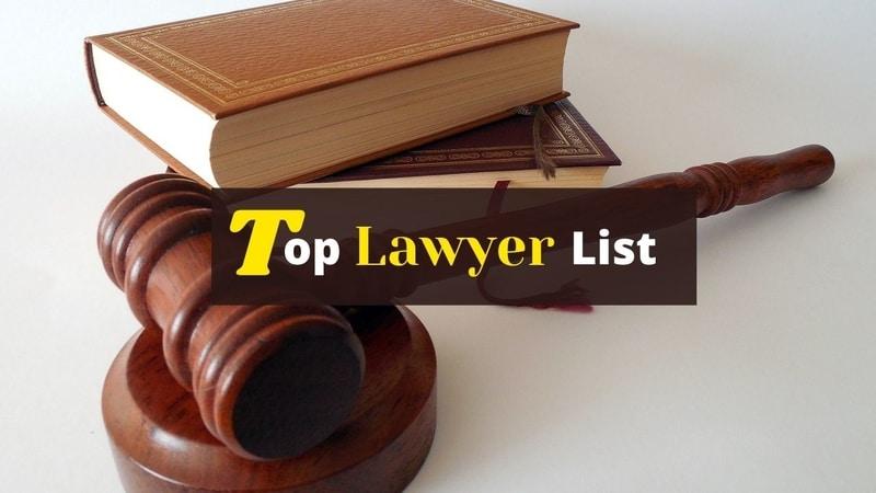 Top Lawyer List