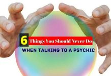When Talking to a Psychic