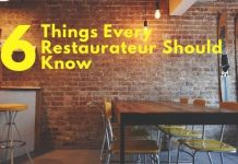 6 Things Every Restaurateur Should Know