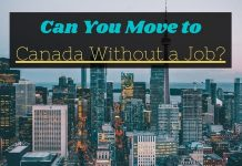 Move to Canada Without a Job