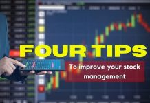 Four tips to improve your stock management