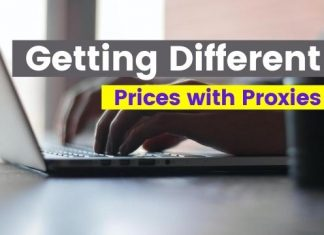 Getting Different Prices with Proxies